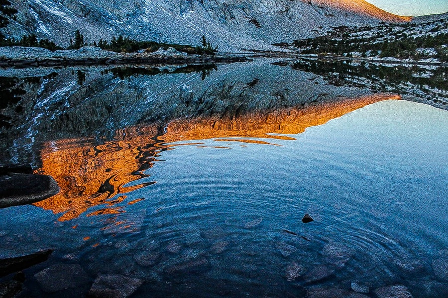 Piute Pass Lake