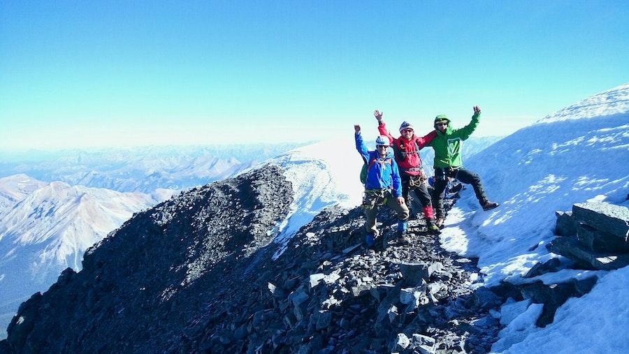 Mount Assiniboine Summit Picture