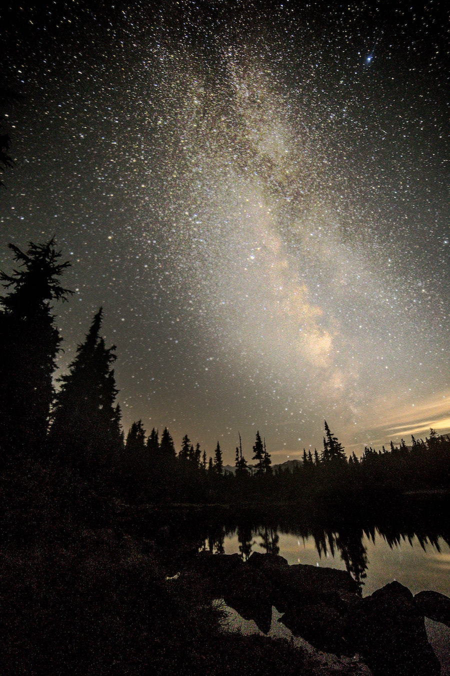 Milky way over Callaghan